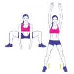 How to perform a squat and stand exercise